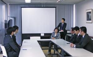 ディアシステム株式会社 2018年卒入社式